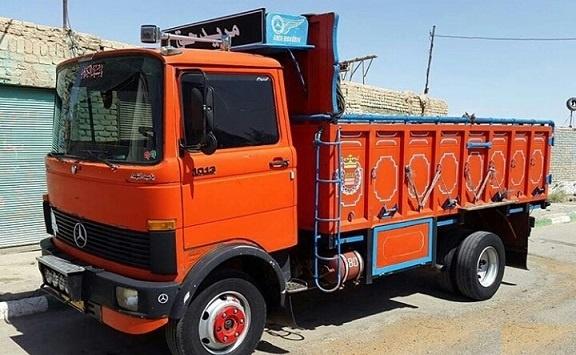 حمل بار با خاور از شادآباد به شهرستان