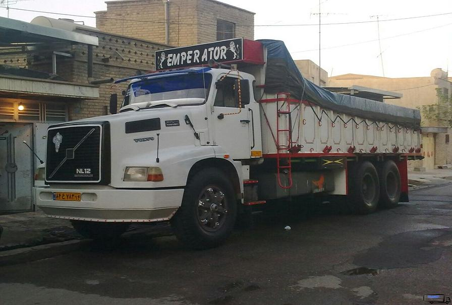 حمل بار با کامیون جفت به بهشهر
