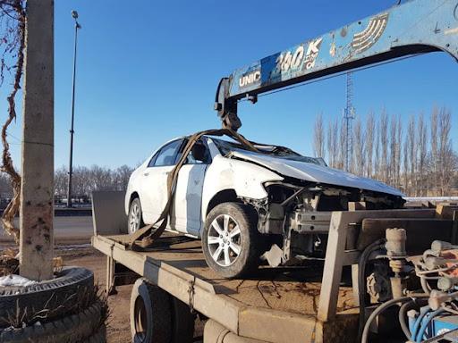 حمل خودرو های تصادفی به بندرامام