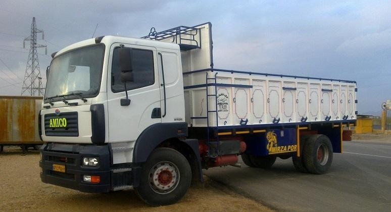 باربری کامیون برای بندرترکمن