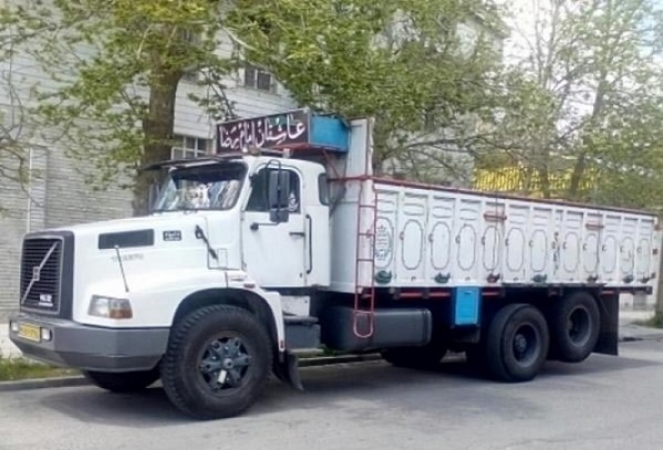 باربری کامیون تهران به کنگان