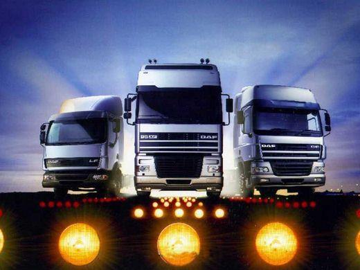 انواع کامیون و تریلی