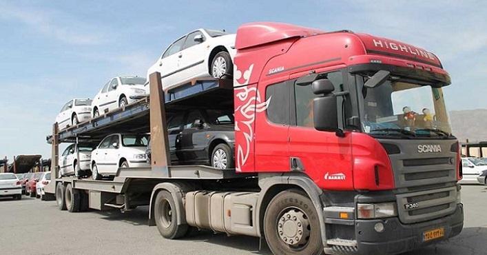حمل خودرو های صفر کیلومتر