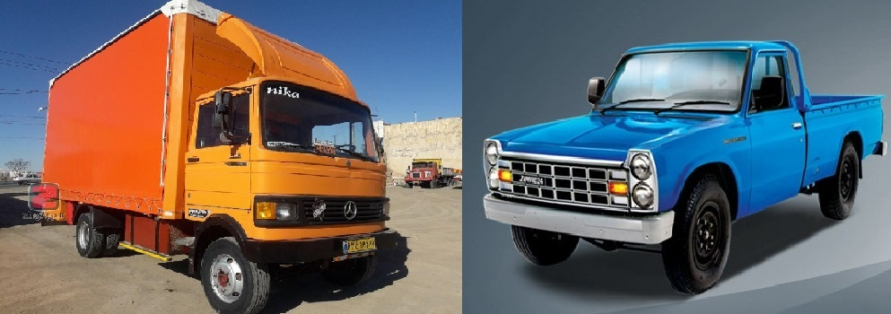 حمل و نقل اثاثیه با نیسان و کامیونت برای مریوان