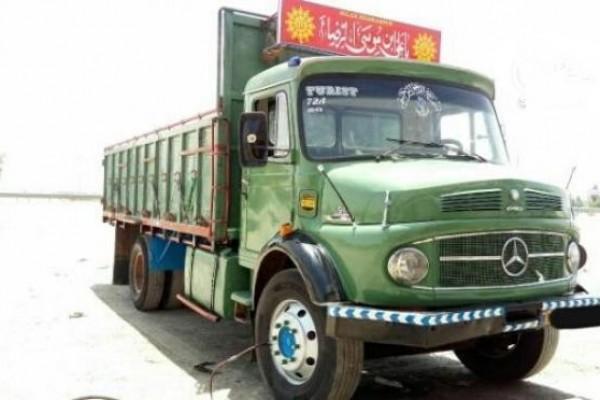 باربری کامیون 10 تن
