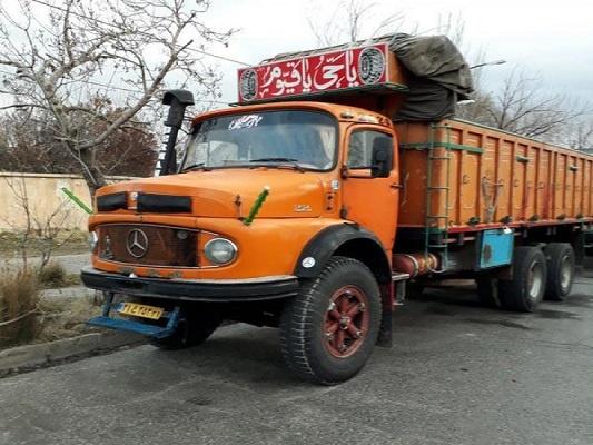 باربری با کامیون به لار