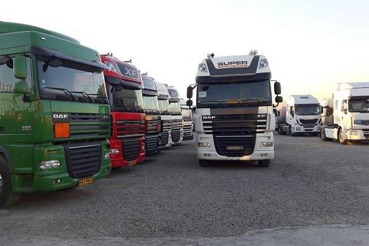 انواع کامیون ها