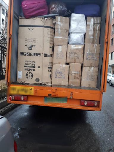 حمل اثاثیه با خاور به سنندج