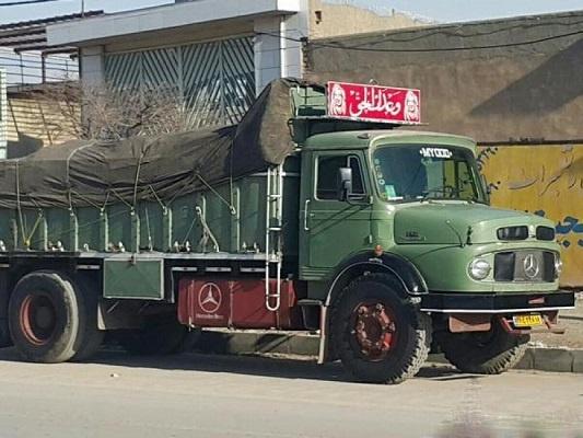 حمل بار به کرمانشاه با کامیون تک