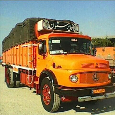 حمل بار با کامیون از سنندج به تهران