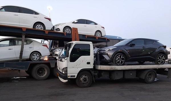 ارسال خودرو به لنگرود