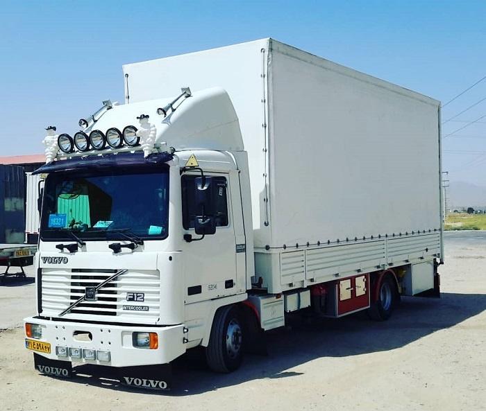 باربری با انواع کامیون