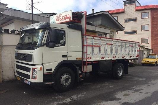کامیون تک _ 10تن