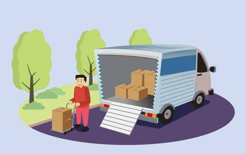 حمل اثاثیه منزل