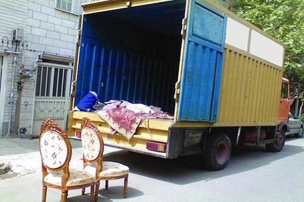 حمل اثاث از تهران با کامیونت