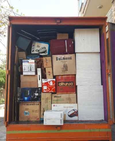 حمل اثاث از تهران به کبودرآهنگ