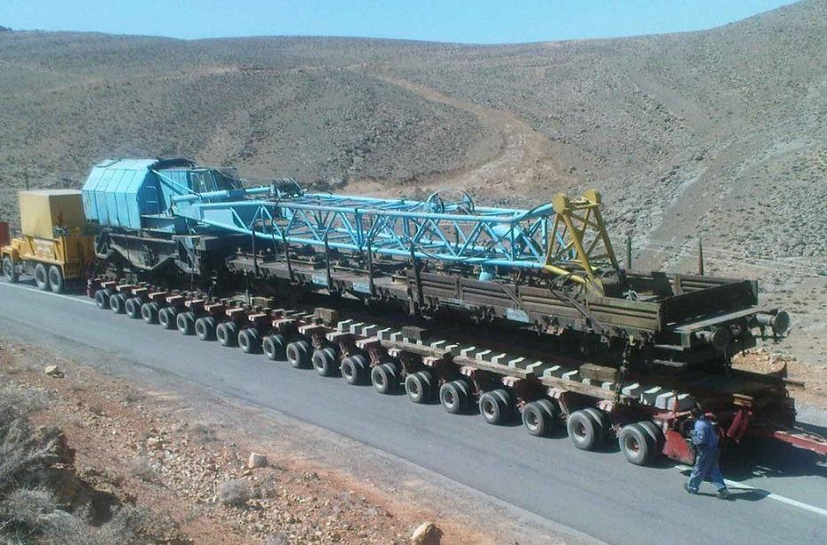 حمل و نقل سنگین تخصصی