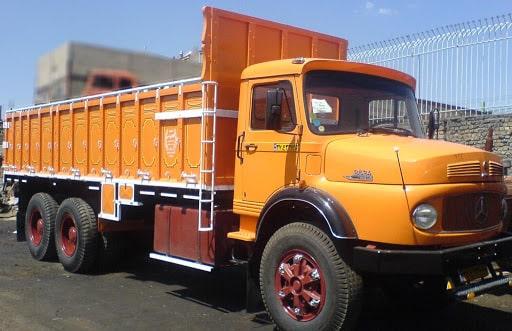 حمل بار با کامیون به کازرون