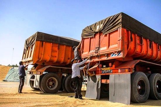 حمل بار های سنگین با کامیون به رودسر