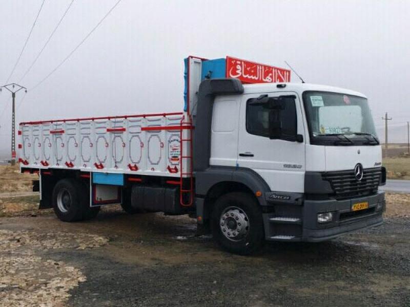 خدمات باربری و حمل و نقل با کامیون برای بشرویه